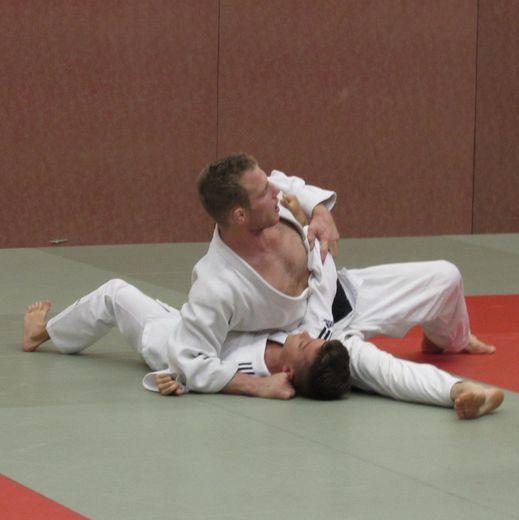 Mathias Boucher en exercice
