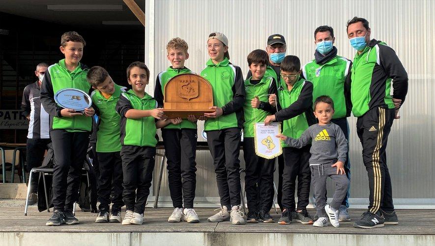 Un beau titre pour les jeunes, une belle récompense pour le club !