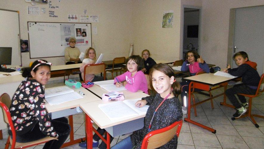 Les élèves ont pleinement participé à cet exercice.