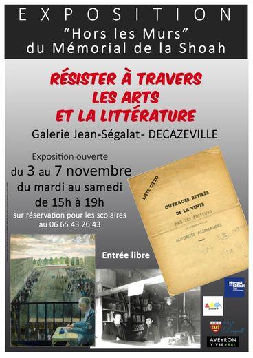 L'exposition se déroule du 3 au 7 novembre, à la galerie Jean Ségalat, à Decazeville.
