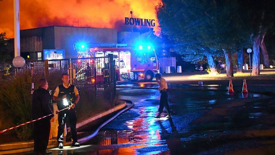 L'incendie du Bowling en juillet 2019.