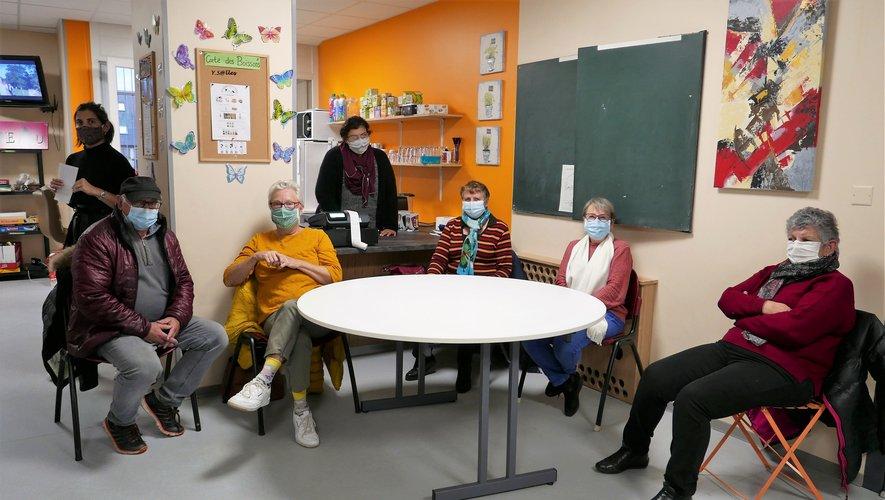 La commission animation du café associatif.
