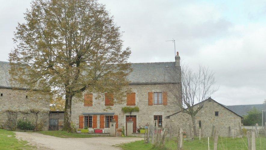 L'ancien hôtel-restaurant de Maria Couvignou.