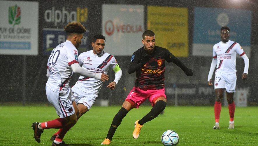 Nassim Ouammou a pris part aux six dernières rencontres ruthénoises.