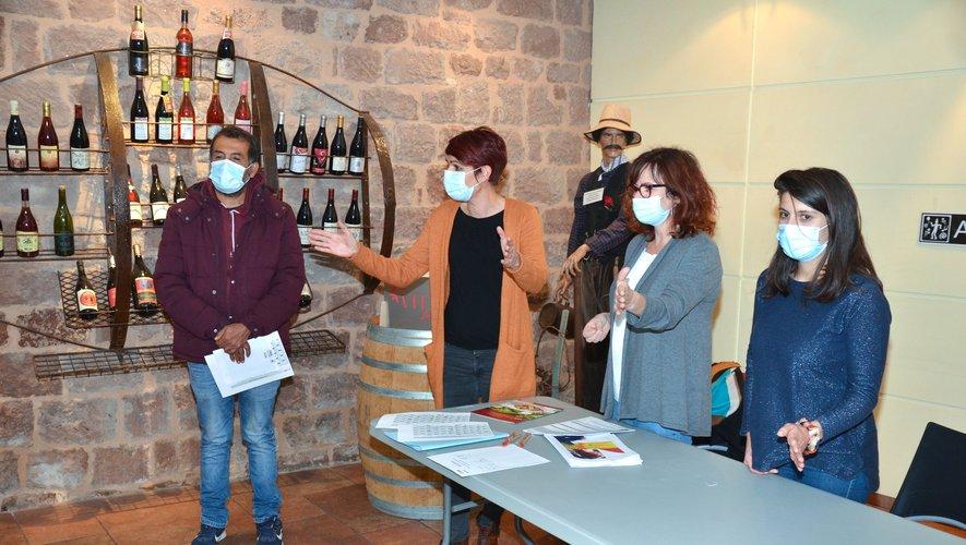 Première  réunion d'information pour les ateliers de  langue.