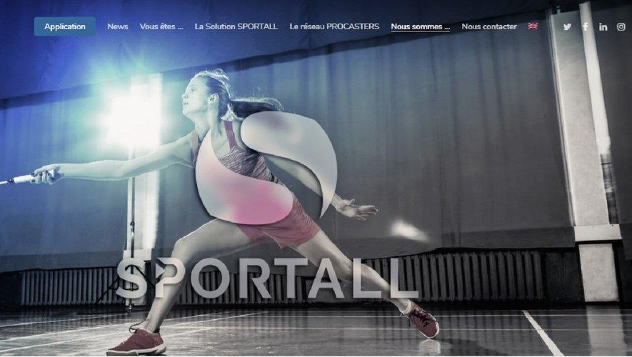 Sportall permet via une application mobile de regarder des disciplines et des compétitions jusqu'ici peu ou pas du tout diffusées à la télévision.