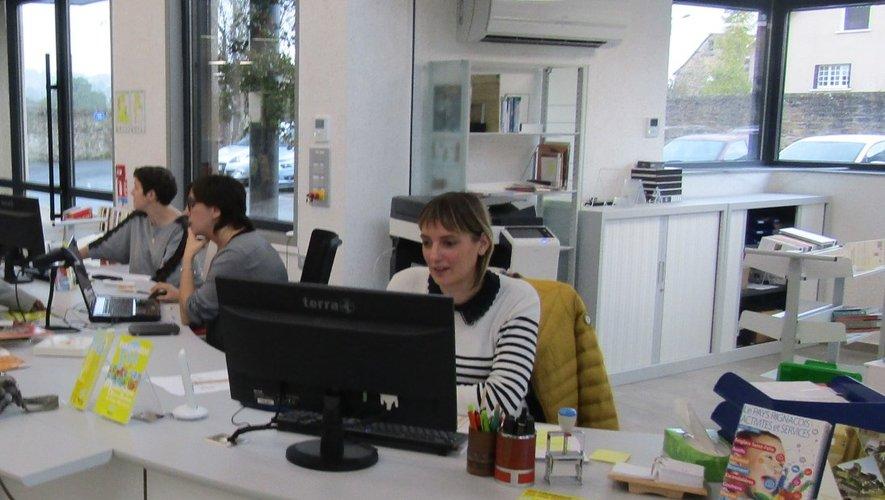 Valérie, Audrey et Agnès restent à la disposition du public.