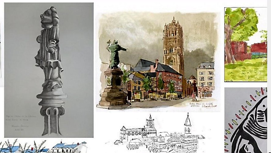 De très beaux dessins à voir sur le site de l'office de tourisme.