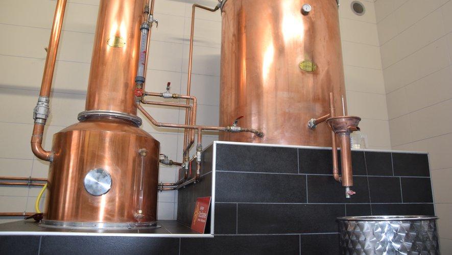 Le whisky Twelve est élaboré avec de l'eau de Laguiole, orge de la Malterie Occitane, grâce à un alambic de Bègles de la société Stupfler, labellisée entreprise du patrimoine vivant.