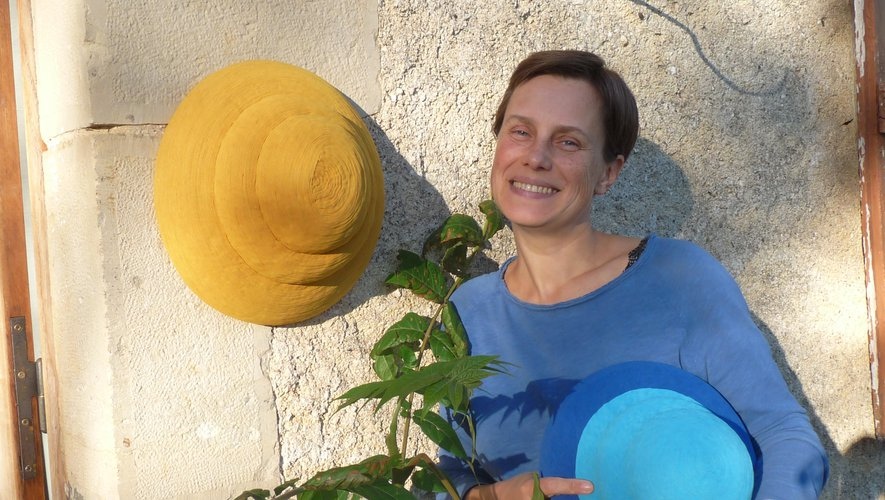 Katia Terpigoreva et ses nouvelles créations textiles.