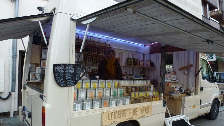Un tout nouveau camion magasin pour un commerce inédit.