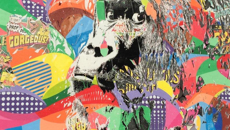 Le gorille de Jo di Bona, l'une des incontournables fresques du street-art.