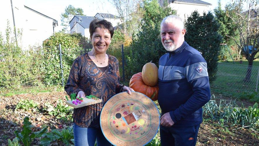 """Marie-José Hibert cultive """"Le jardin de Margot et Arthur"""""""