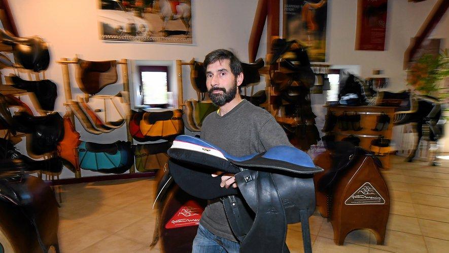 La sellerie Gaston Mercier en totale connexion avec le cheval