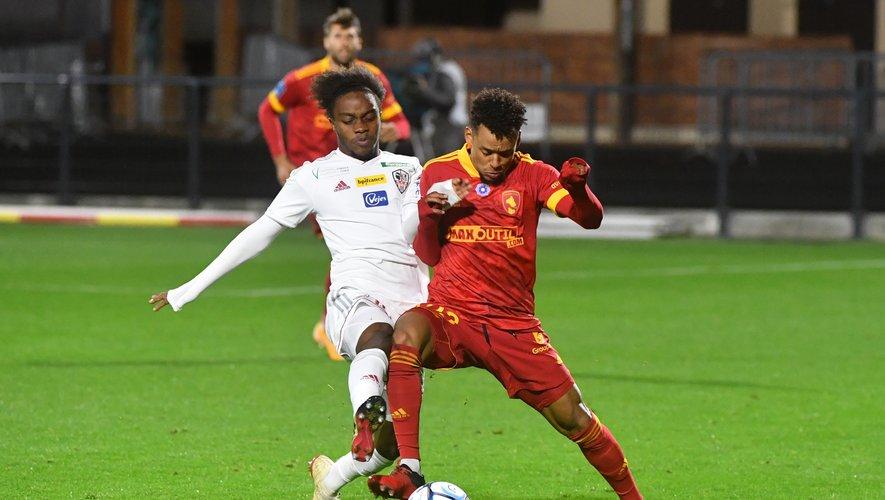 Johann Obiang et Rodez restent sur une défaite contre Ajaccio.