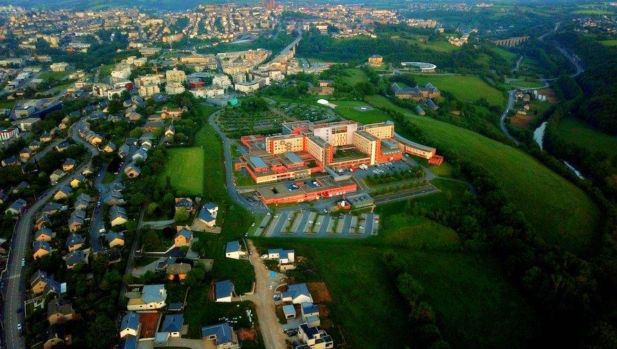 Le nombre de personnes hospitalisées à Rodez a légèrement diminué.