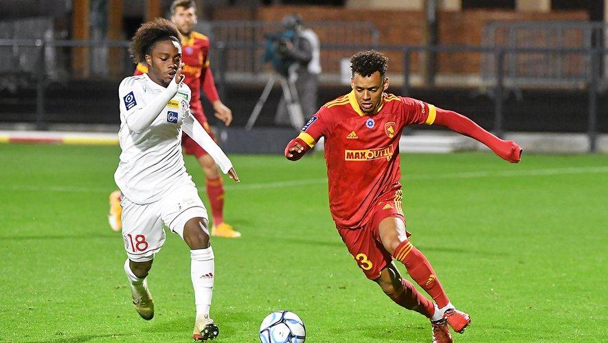 Johann Obiang et les Ruthénois n'ont pris qu'un seul point lors de leurs cinq dernières rencontres.