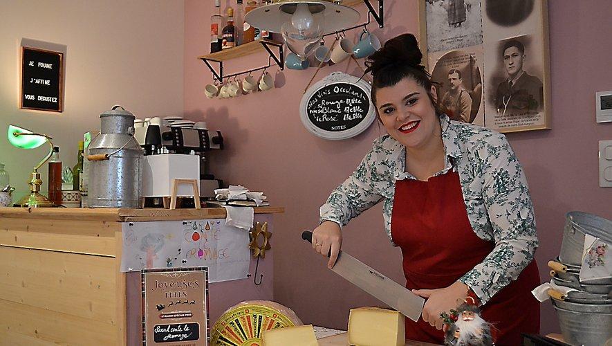 Sarah Lacaze veut sauverson entreprise et elle est prête à recevoir les commandes.