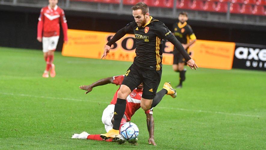 Pierre Bardy et les Ruthénois ont livré un bon match à Valenciennes