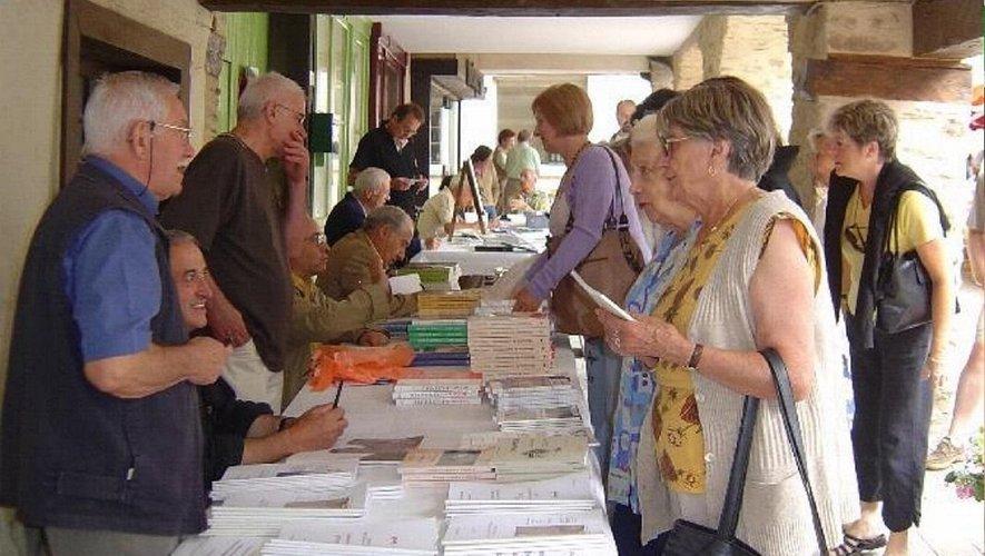 Gilbert Imbert, à l'occasion d'un marché des écrivains