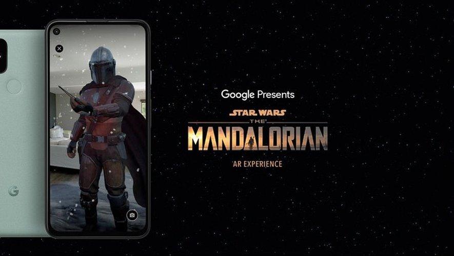 """L'application """"The Mandalorian AR Experience"""" sera disponible en France le 2 décembre."""