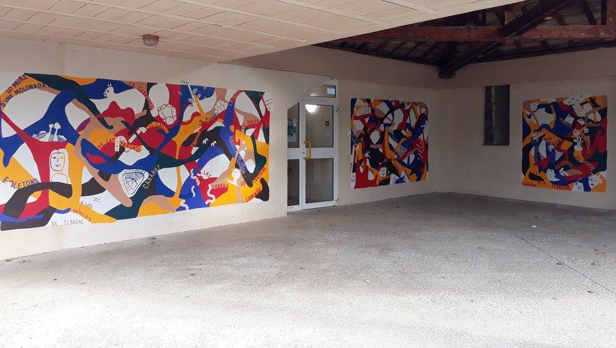 Une invitation à venir admirer cette belle réalisation à l'école Sylvain-Diet.