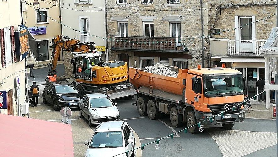 Les travaux ont lieu du 24 au 27 novembre.