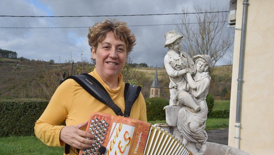 Sylvie Pullès a ses attaches maternelles au village de Fraysse.