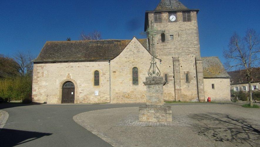 L'église d'Anglars.