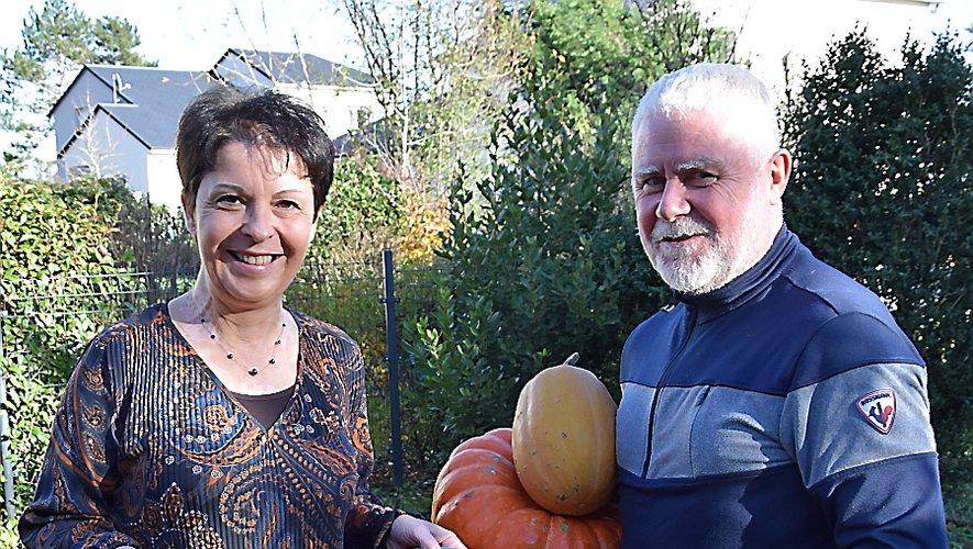 Marie-José Hibert et Didier.
