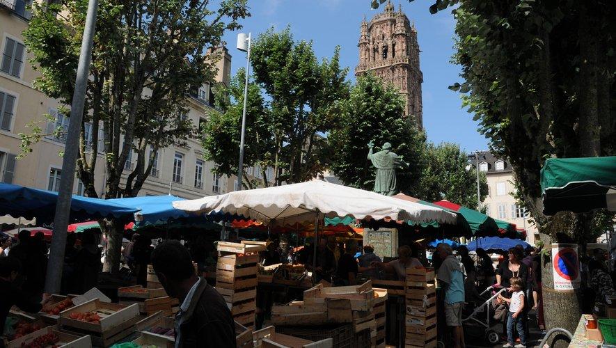 Les marchands plaident pour un retour rapide sur la place de la Cité.