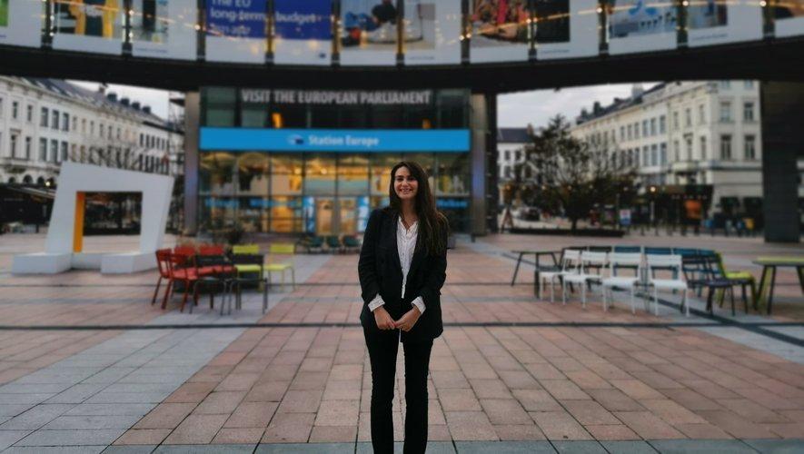Juriste à la direction des finances de la commission européenne à Bruxelles, Charlotte Teyssèdre s'occupe des lois relatives à la libre circulation des capitaux. La Ruthénoise de (bientôt) 30 printemps vit en Belgique depuis deux ans.