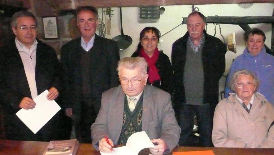 Zéphir Bosc était un défenseur et un passionné de la langue d'Oc et de son terroir.