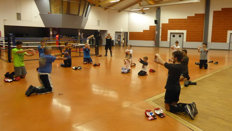 Le club de boxe savate française fait partager sa passion aux petits et grands