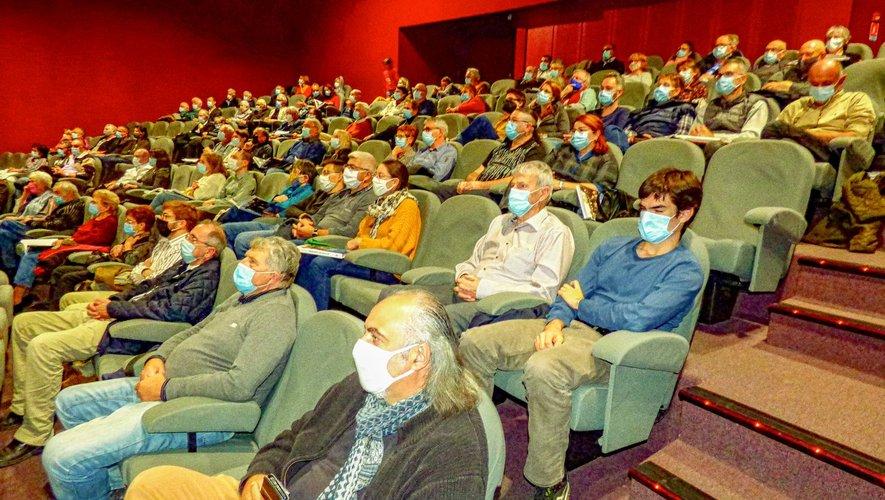 Beaucoup d'émotion aussi parmi le public.