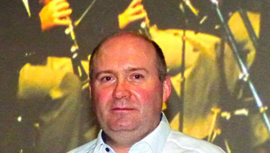 Olivier Boreau n'était plus venu à Decazeville depuis 20 ans.