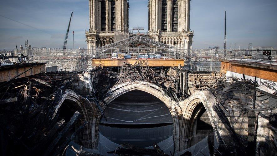 Il s'agit du troisième événement organisé dans Notre-Dame depuis l'incendie du 15 avril 2019 qui a détruit partiellement l'édifice.
