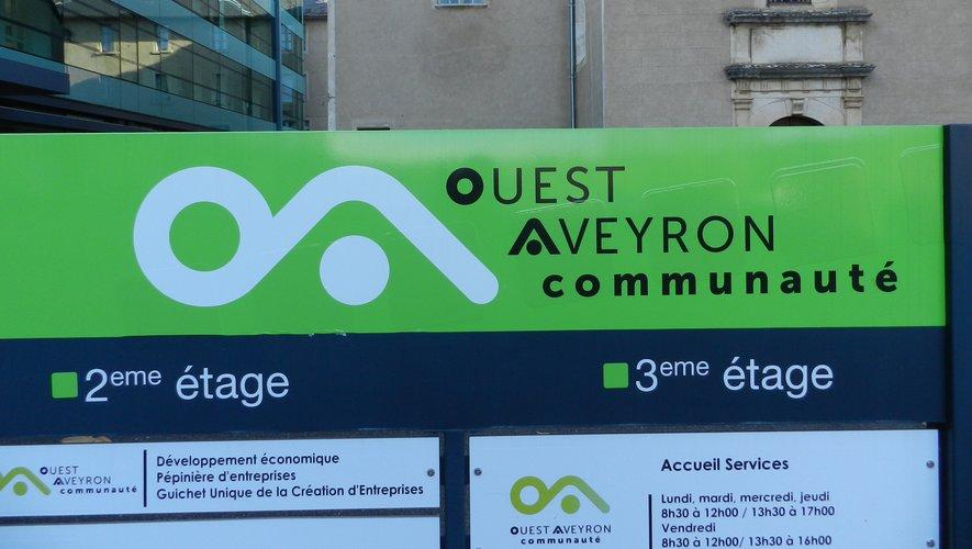 Ouest Aveyron communauté a adopté le schéma de signalisation d'information locale.