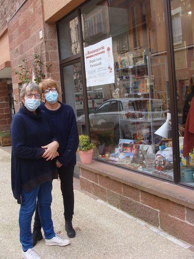 Éliane et Sharon au cœur de la vie de la Ressourcerie