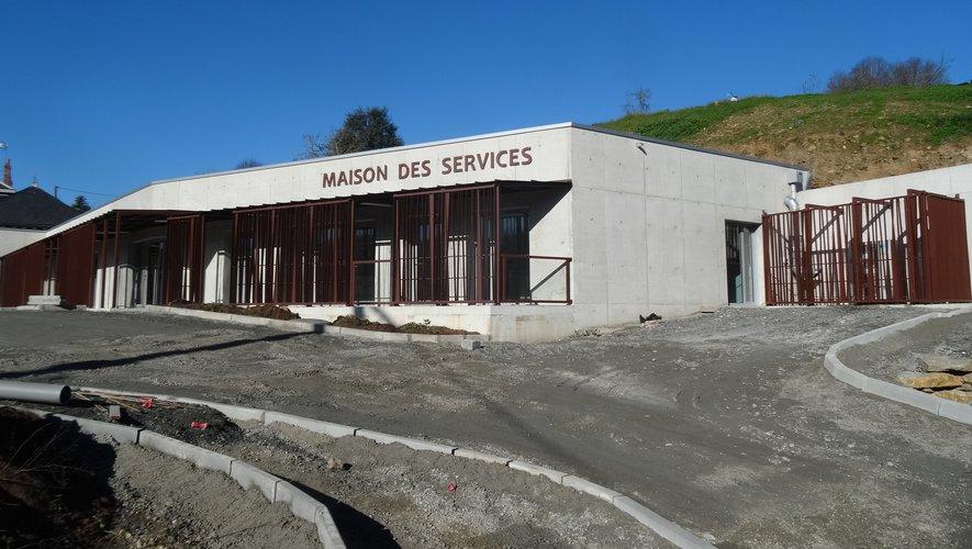 La Maison des servicessera bientôt ouverte.