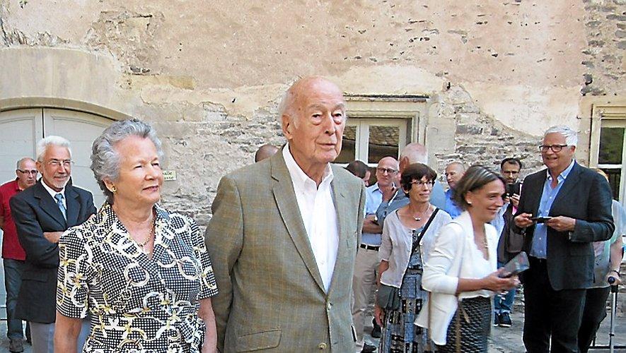 L'ancien président venait régulièrement à Estaing.