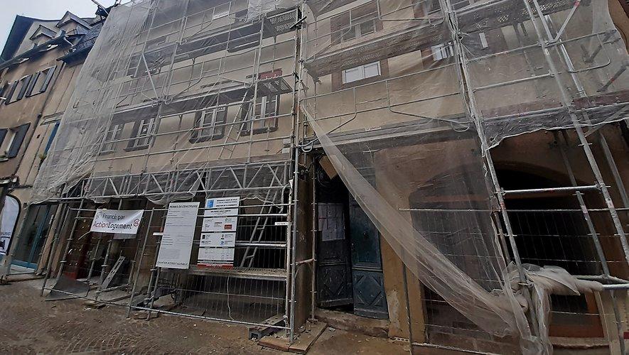 Les travaux menés actuellement rue de l'Embergue sont intégrés à ce dispositif.