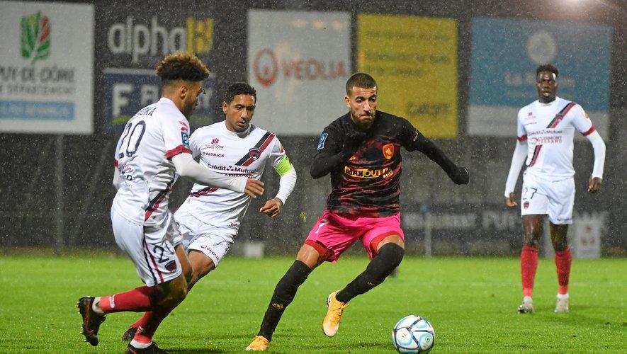 Nassim Ouammou manquera la réception d'Amiens, samedi 5 décembre.