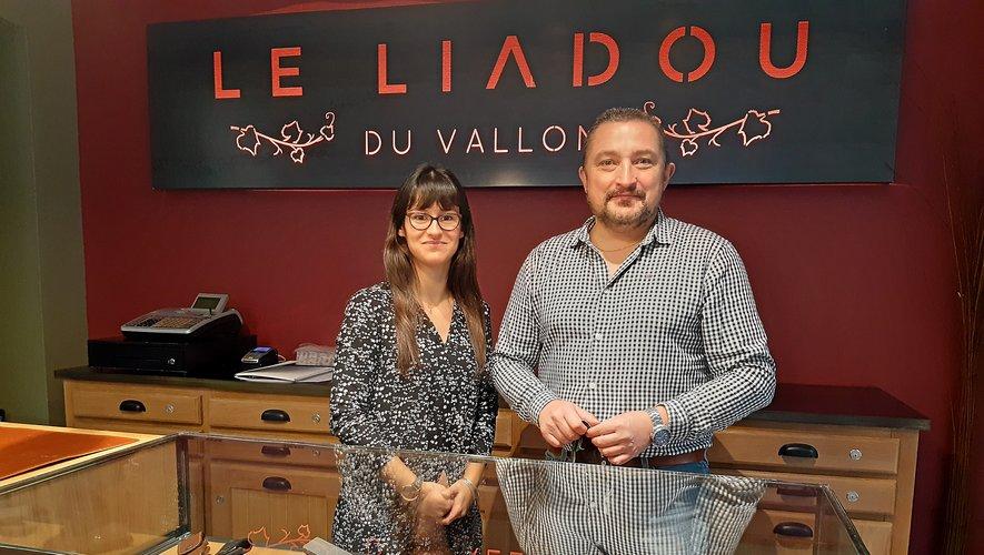 Dans la nouvelle boutique, Liadou du Vallon,Nicolas Julvé et Noémie peuvent avoir le sourire.