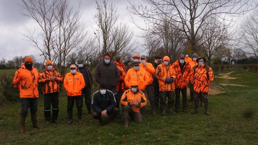 Les chasseurs étaient au rendez-vous à Saint-Martin.
