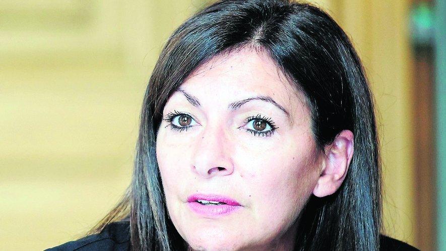 Anne Hidalgo, maire de Paris et candidate à la présidence de la République.