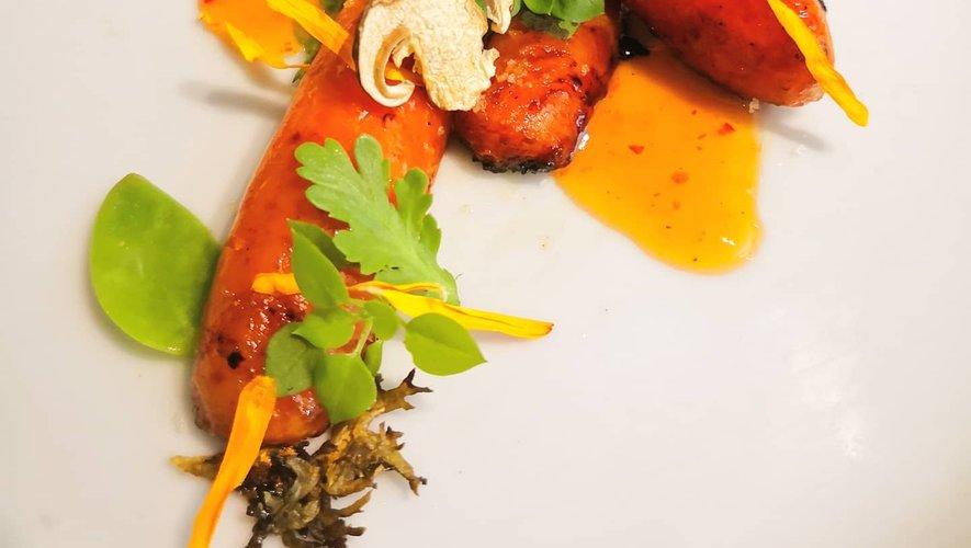 Un attrape-rêve culinaire histoire d'agrémenter les plats.