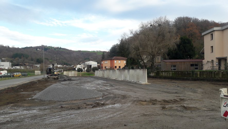 Une zone de stockage créée avenue Paul-Ramadier
