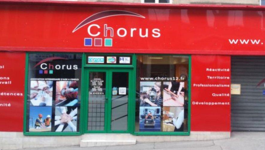 Pensez à Chorus pour l'emploi.