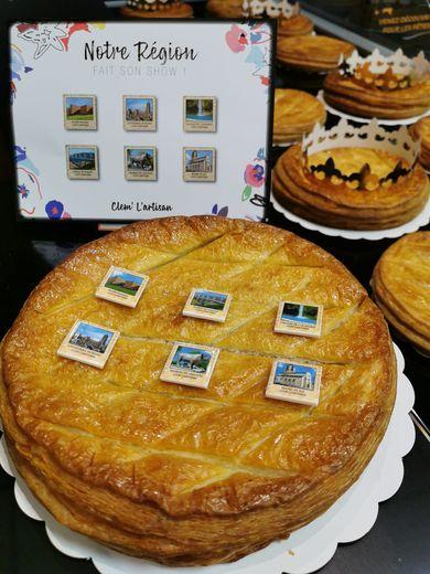 la série de fèves créée par l'artisan boulanger compte six pièces différentes.